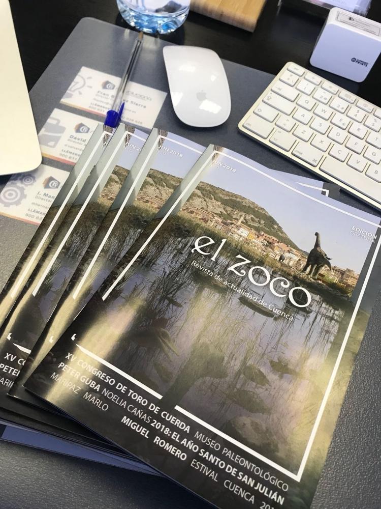 Netvoluciona realiza la redacción, el diseño y la maquetación de la nueva edición de la revista el zoco