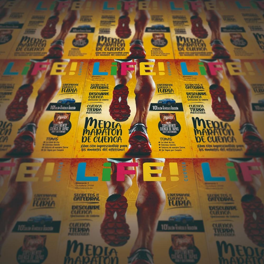 Netvoluciona publica el número 1 de la revista Life!Cuenca