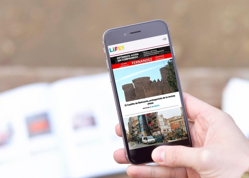 El diario digital de Netvoluciona, Life! Cuenca, supera las 85.000 visitas en el mes de abril