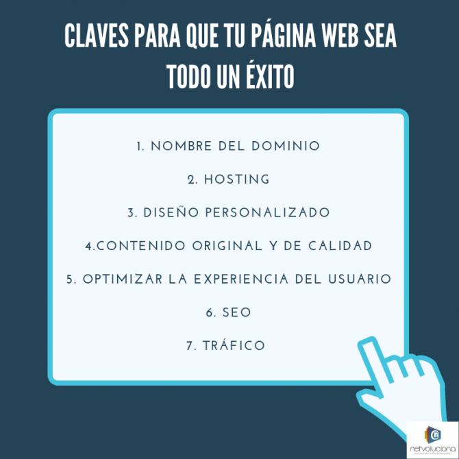 Claves de una website de �xito