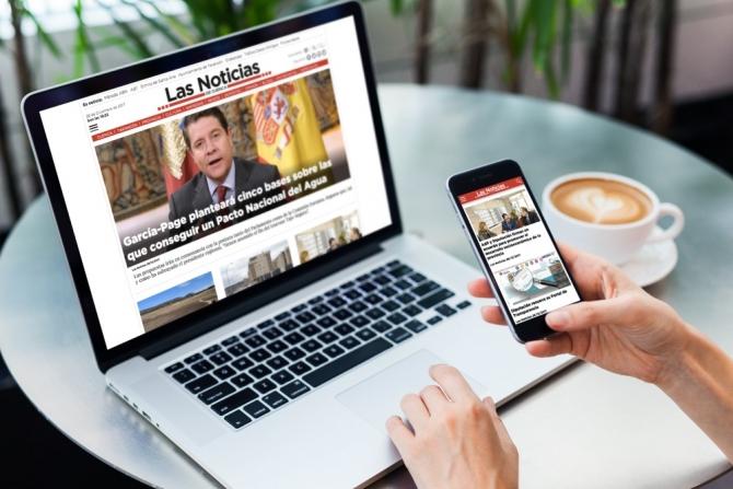Nueva web Las Noticias de Cuenca