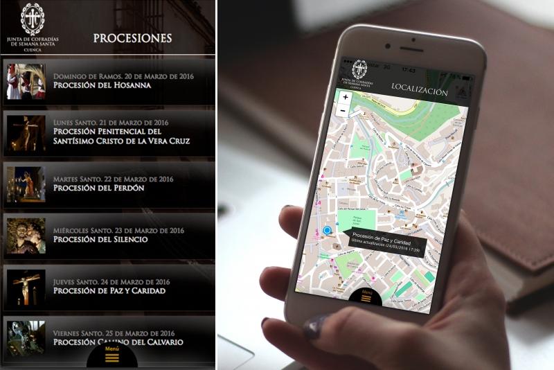 Netvoluciona desarrolla y pone en marcha la app móvil de la Junta de Cofradías de Cuenca