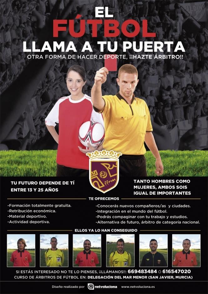 Colaboramos con el Comité de Árbitros de la Federación de Fútbol de la Región de Murcia