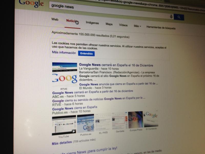 Analizamos las causas y consecuencias del cierre de Google News en España.