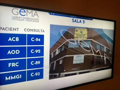 Netvoluciona lleva a cabo el despliegue de pantallas de contenido en las reconocidas clínicas GEMA de Mataró