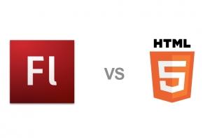 Flash vs HTML5, la eterna batalla