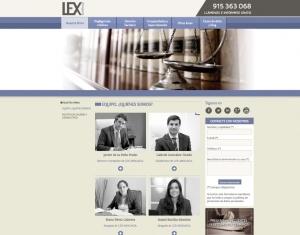 La empresa de servicios jurídicos Lex Abogacía confía en Netvoluciona para el diseño y desarrollo de su nueva web