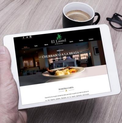 Imagen web Página web Restaurante El Laurel de Buenavista