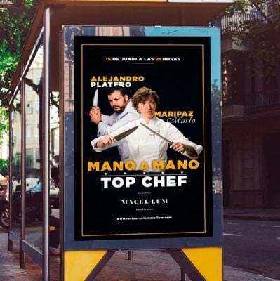 Imagen web Mano a mano Top Chef