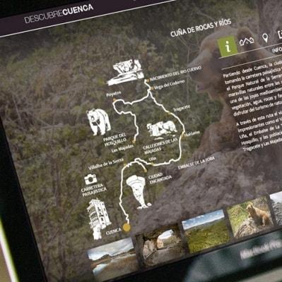 Imagen web Descubre Cuenca