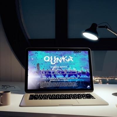 Imagen web Sistema de venta de entradas online QunkaFest