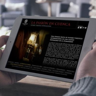 Imagen web Junta de Cofradías de Cuenca